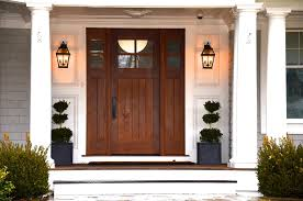 front door lighting ideas. black metal wall sconces lantern style guarding the front door lighting ideas