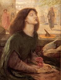 dante gabriel rossetti 1828 1882 beata beatrix oil on canvas c1877