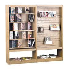 Single Book Display Stand Brodart SingleFaced Book Gondola Adder 52