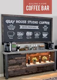 coffee bar for office. DIY Home Coffee Bar For Office I