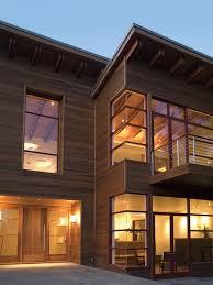 Minimalist wood exterior home photo in San Francisco
