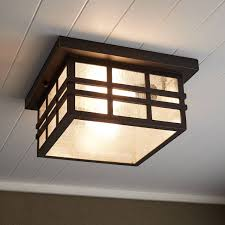 ambler outdoor flush mount ceiling fixture oil rubbed bronze