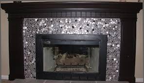 mosaic tile fireplace.  Tile Mosaic Tile Fireplace Gray In I