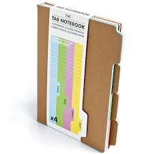 Notebook With Colored Pages Amazon Com Suck Uk A5 Tab Notebooks