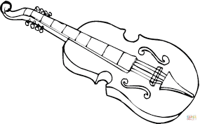 Viola coloring page | Free Printable Coloring Pages
