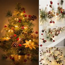 Cone Lights Christmas Us 8 64 42 Off Christmas Tree Strings Lights Fairy Pine Cone Led Garland Xmas Party Home Decors Decor For Christmas Home Party Ws In Pendant Drop