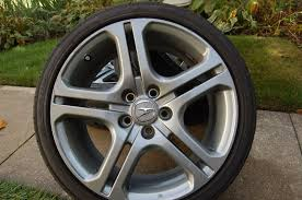 Acura TL A-Spec rims with tires - AcuraZine - Acura Enthusiast ...