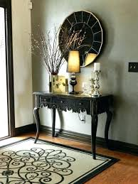 Small entryway table ideas Console Tables Black Foyer Table Foyer Table Ideas Adorable Black Foyer Table With Best Black Entryway Table Ideas Guaranteed No Stress Foyer Ideas With Stairs Top Main Entrance Black Foyer Table Foyer Table Ideas Adorable Black Foyer Table With