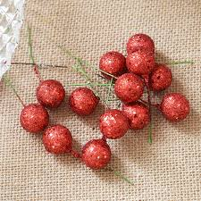 fruit christmas decorations. Delighful Fruit Christmas Decorations Flash Fruit Apple Simulation Berry Diy  Accessories Red Tree Decoration Intended Fruit Decorations U