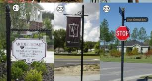 Decorative Sign Posts Custom Wood Street Traffic And Parking Signs 19