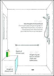 ada shower bench seat folding installation revit family