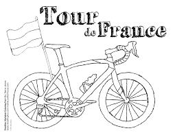 France Coloriages Autres Coloriage Tour De France L