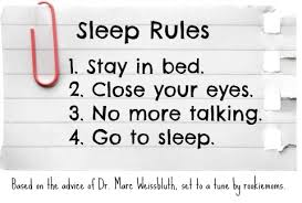 Sleep Rules How I Taught My Children To Go To Bed And Stay