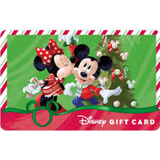 Gift Cards For Christmas Disney Collectible Gift Card Christmas Mistletoe Mickey Minnie