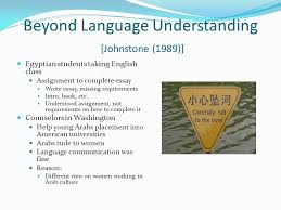 by stefan a ciancio introduction different types of cultural  6 beyond language understanding