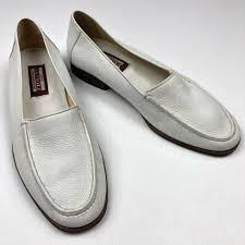 artioli star men s deerskin leather loafers slip on shoes white size 9 5