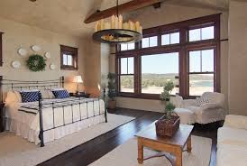 chandelier ceiling fan bedroom traditional with area rug dark floor