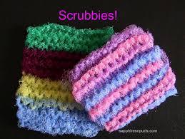 Knitted Scrubbie Pattern