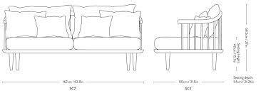 tradition fly sc2 two seater sofa hot