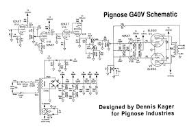 pignose g40v amp mods click here to a pdf of the schematic