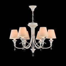 Maytoni Beleuchtung Torino Elegante Kronleuchter Weiß