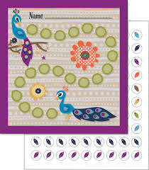Reward Chart With Stickers Peacock Select Potty Target