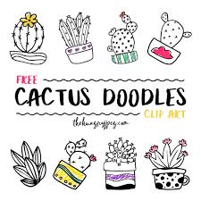 Free Cactus Logo Design Zooll Com Graphic Design Ideas And Inspiration Clipart