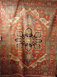 antique persian serapi circa 1920