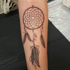 Dream Catcher Tattoo On Thigh 100 Best Dreamcatcher Tattoo Designs Meanings Dive Deeper 100 14