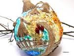 Большая игрушка на елку шар