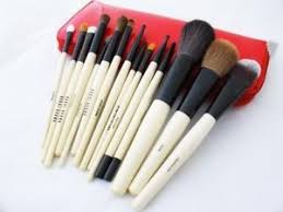 bobbi brown brushes price. bobbi brown 15pcs makeup beauty brushes set so red price