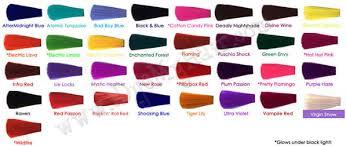 Manic Panic Hair Color Chart Lajoshrich Com