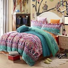 full size bed comforters. exellent comforters teal purple and black stripe bohemian  boho  style western tribal  print abstract design exotic brushed cotton full size bedding sets throughout bed comforters e