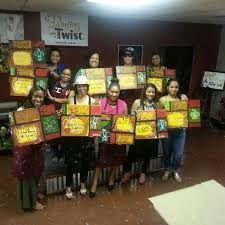 photo taken at painting with a twist westheimer by marie n on 6