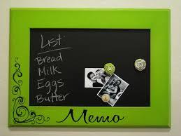 Black Magnetic Memo Board Magnetic Memo Board 4