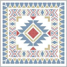 simple navajo designs. Navajo Style Simple Border Design Tribal Boho Modern Native American Designs