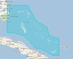 Mapmedia Jeppesen Raster Wide Bahamas Explorer Charts