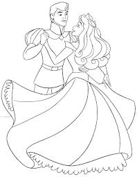 Coloring: Princess Aurora Coloring Pages