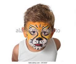face paint lion stock photos face paint lion stock images alamy
