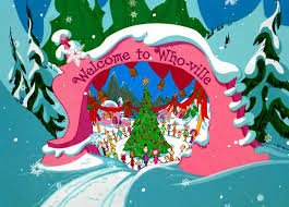 image result for whoville set design christmas