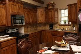 rustic alder kitchen cabinet photos