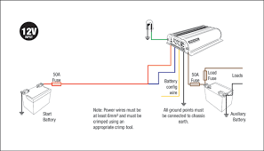 bcdc1240 standard installations redarc electronics learn how to wire a bcdc1240 see the diagrams below
