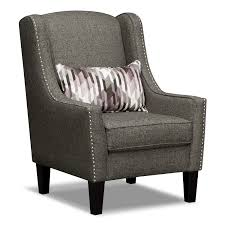 sofa gray vie boutique living room