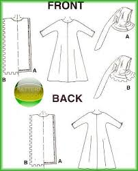 Monk Robe Pattern
