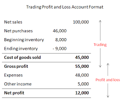 Profit And Loss Account Trading Profit And Loss Account Double Entry Bookkeeping
