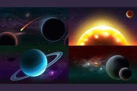 Parallax Space Backgrounds
