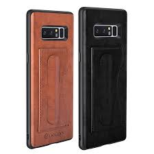 card slot pu leather kickstand magnetic case for samsung galaxy note 8 cod