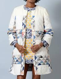 153 best Wearable Quilts images on Pinterest | Cold porcelain ... & Carleen vintage wool & cotton quilt coat Adamdwight.com