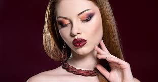 model showing how great we can make people look after makeup training