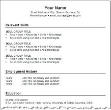 Resume Templates Free Download Word New Top Best Choice Templates ...
